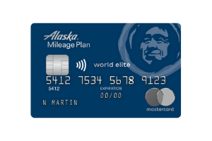 MBNA Alaska Airlines World Elite Mastercard