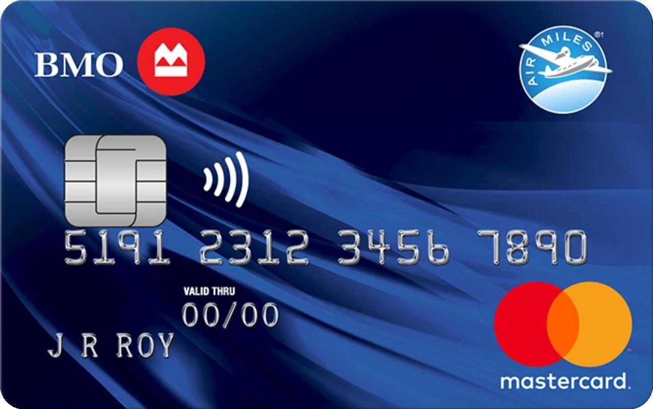 BMO® AIR MILES® MasterCard® logo
