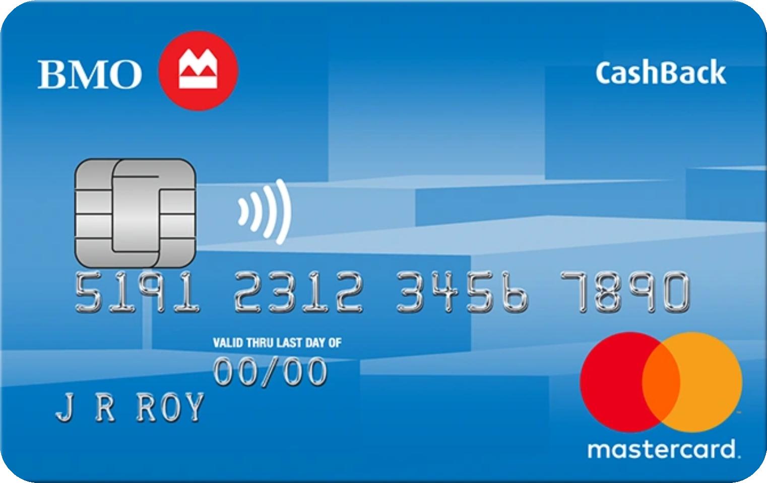 BMO® CashBack® MasterCard® logo