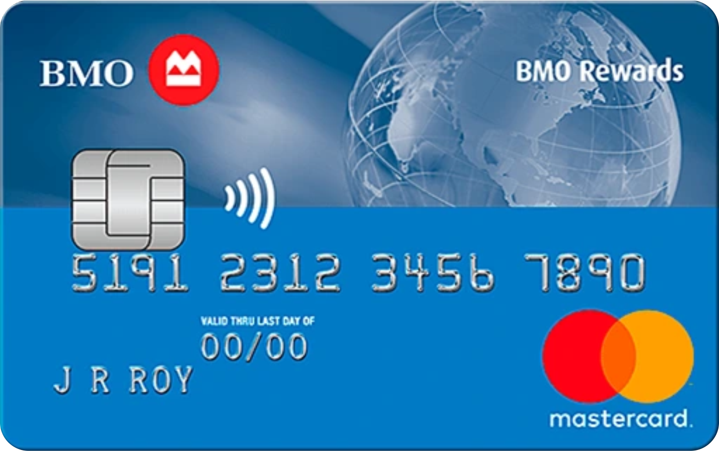 BMO® Rewards MasterCard® logo