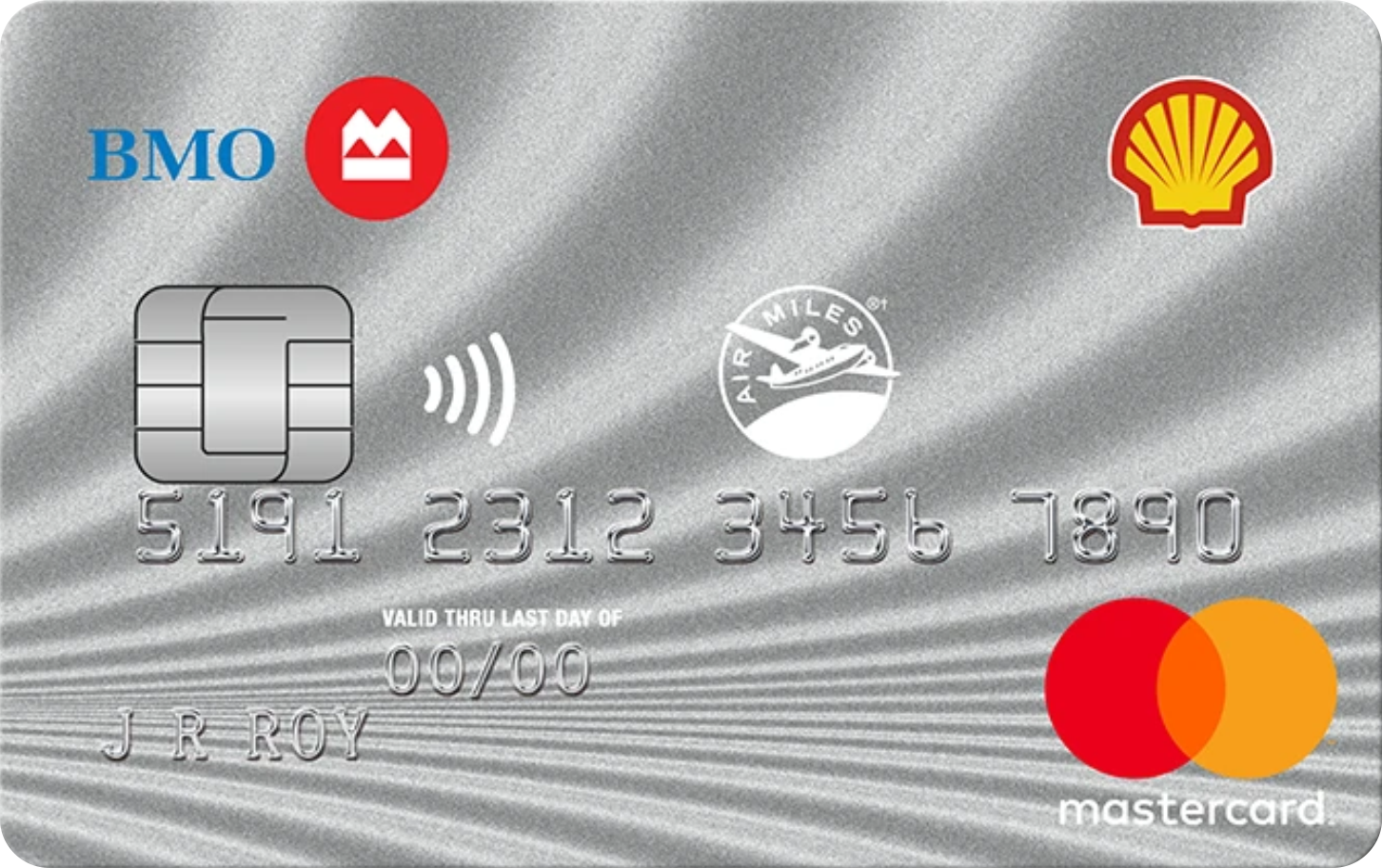 Shell AIR MILES® MasterCard® from BMO logo