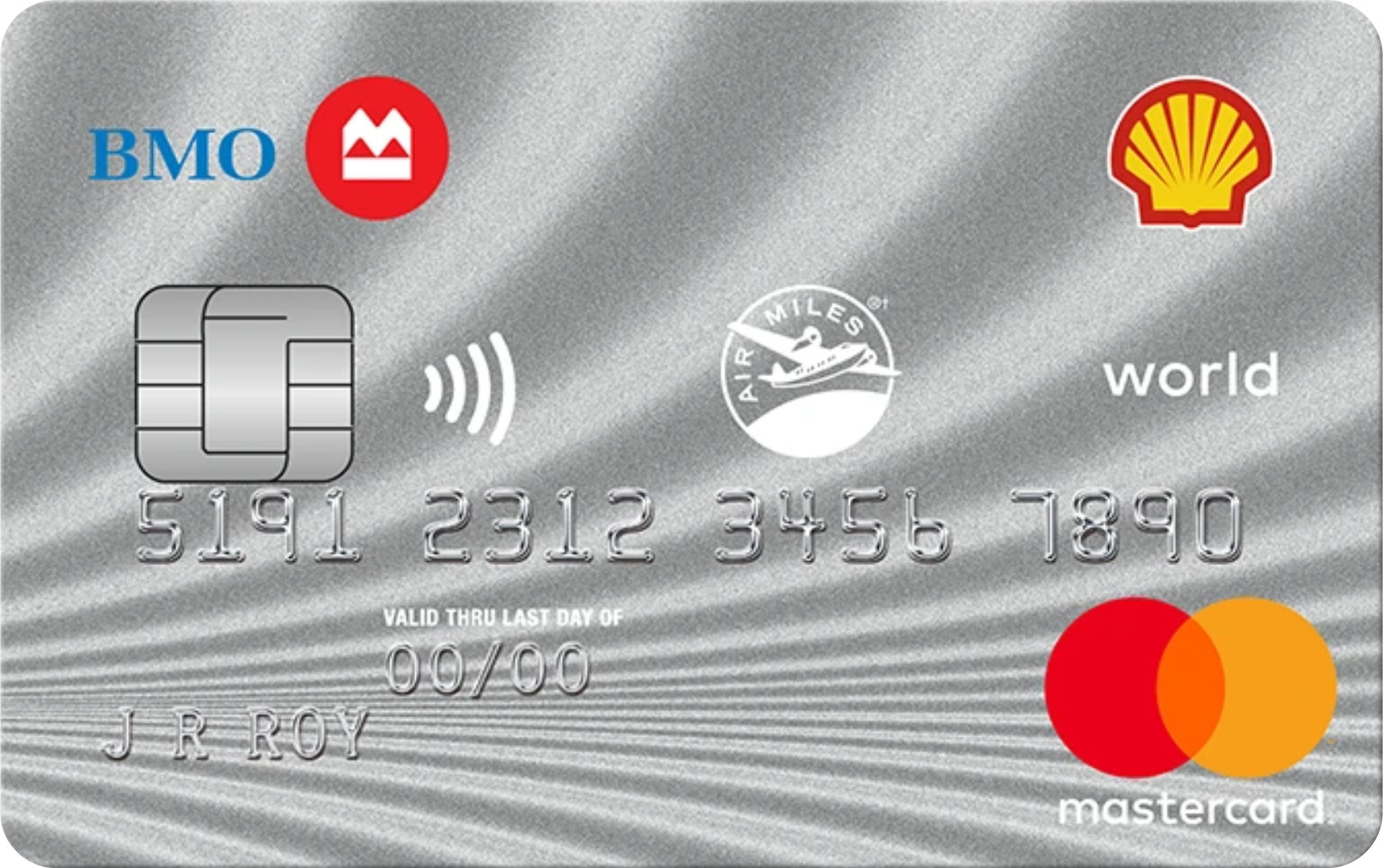 Shell AIR MILES® World MasterCard® from BMO logo