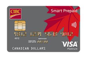 CIBC Smart Prepaid Visa Card