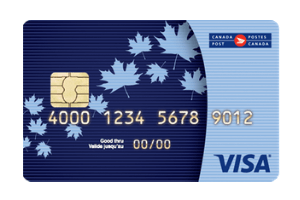 Canada Post Visa Prepaid Card