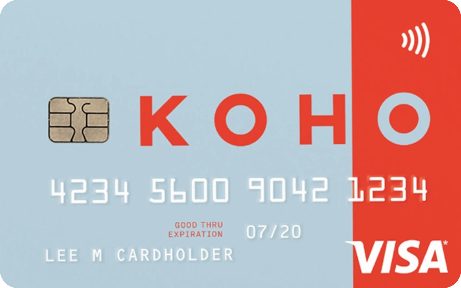 KOHO Prepaid Visa® logo