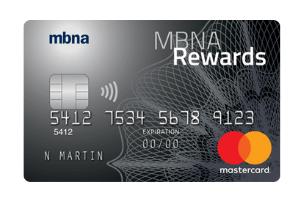 MBNA Rewards Platinum Plus Mastercard