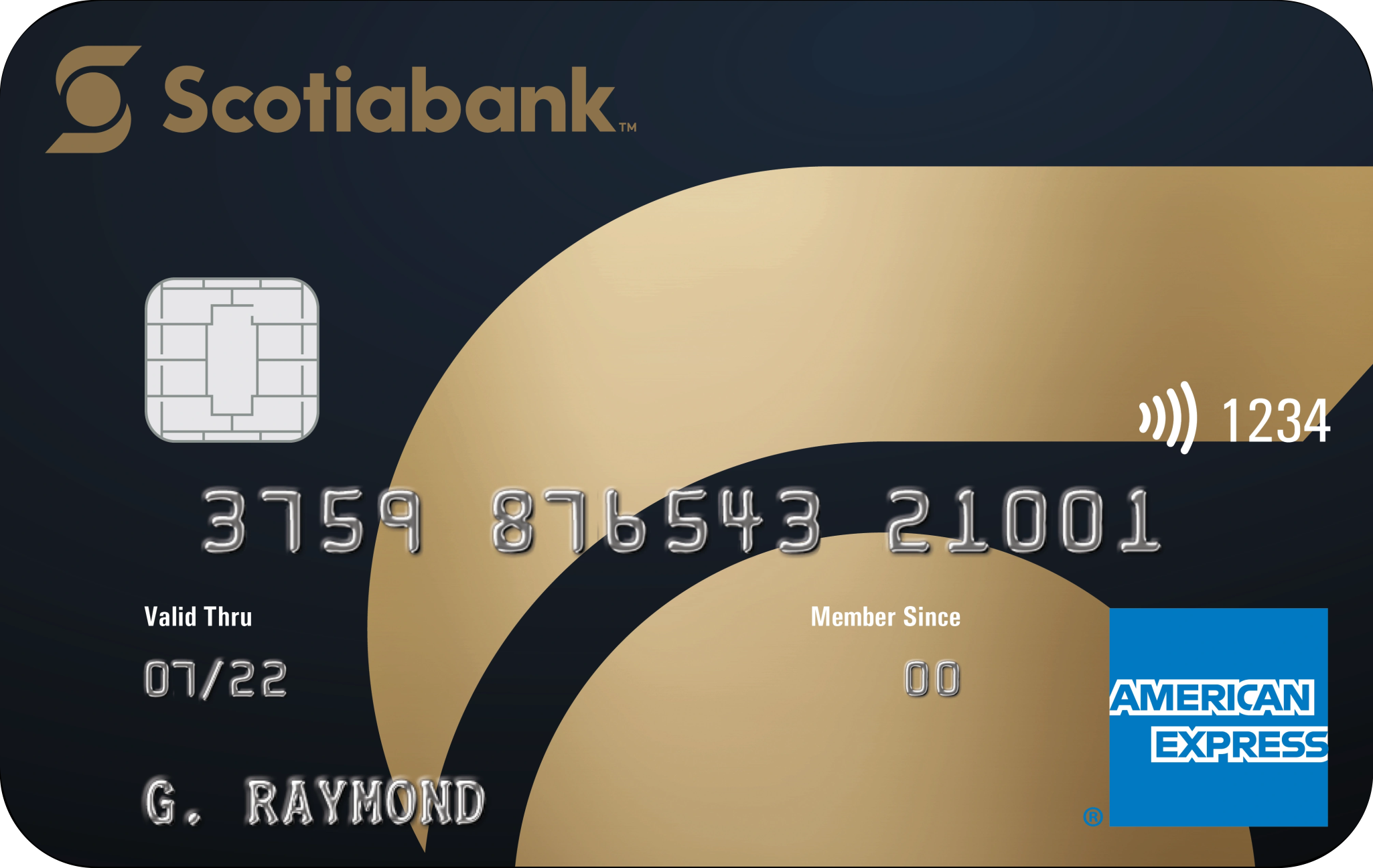 Scotiabank® Gold American Express® card logo
