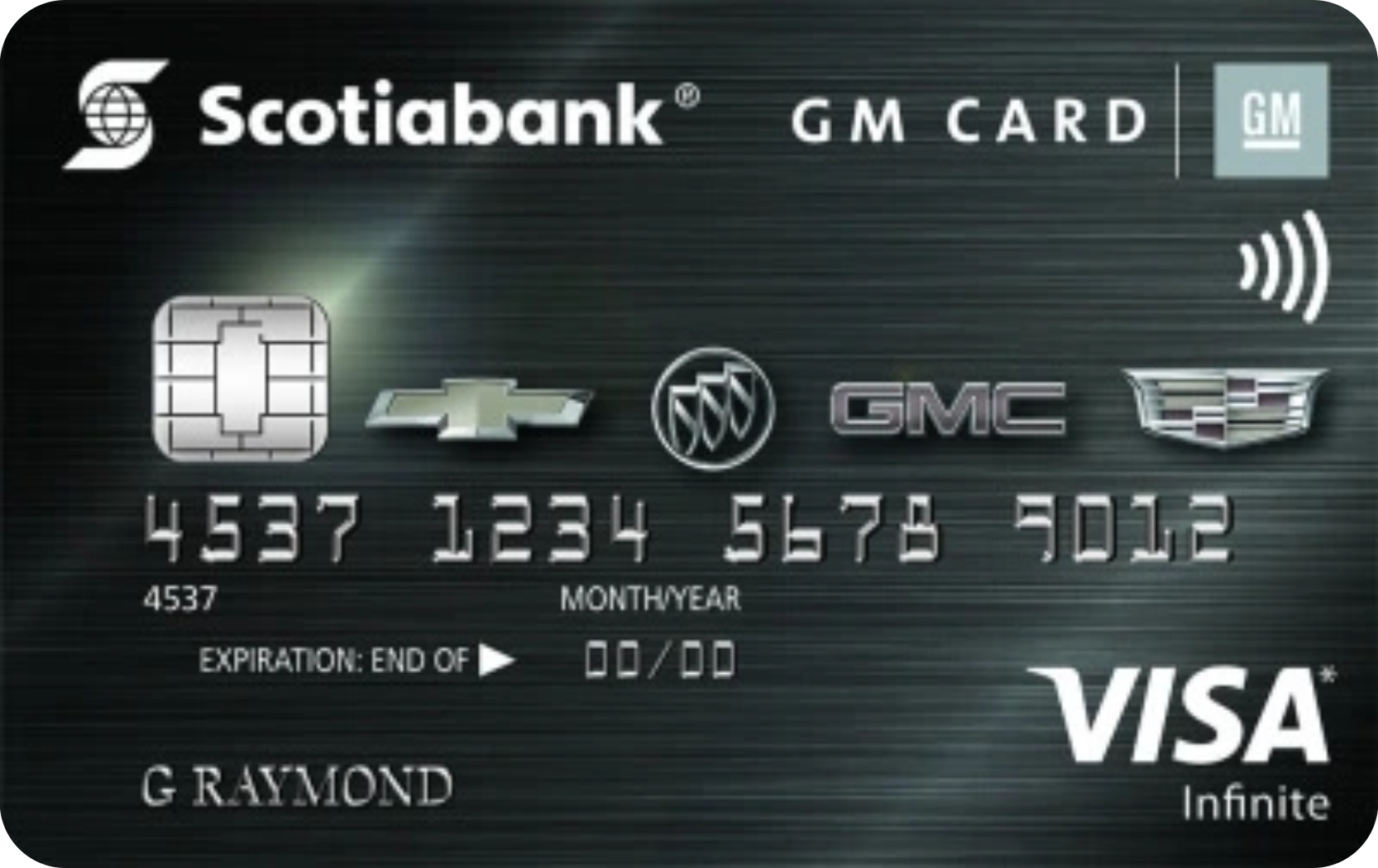 Scotiabank® GM® Visa Infinite card logo