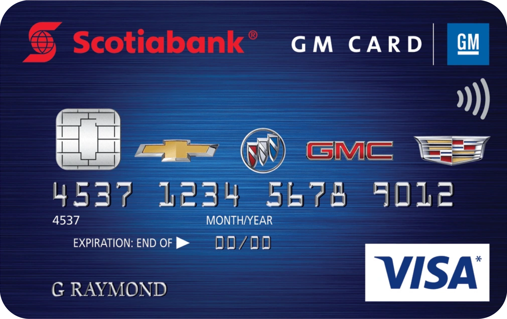 Scotiabank® GM® Visa card logo