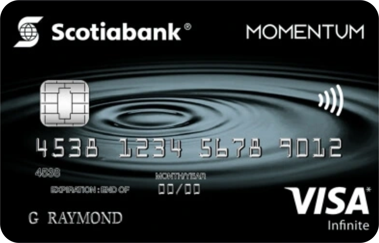 Scotia Momentum® Visa® Infinite Card logo