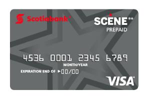 Scotiabank SCENE Prepaid Reloadable Visa