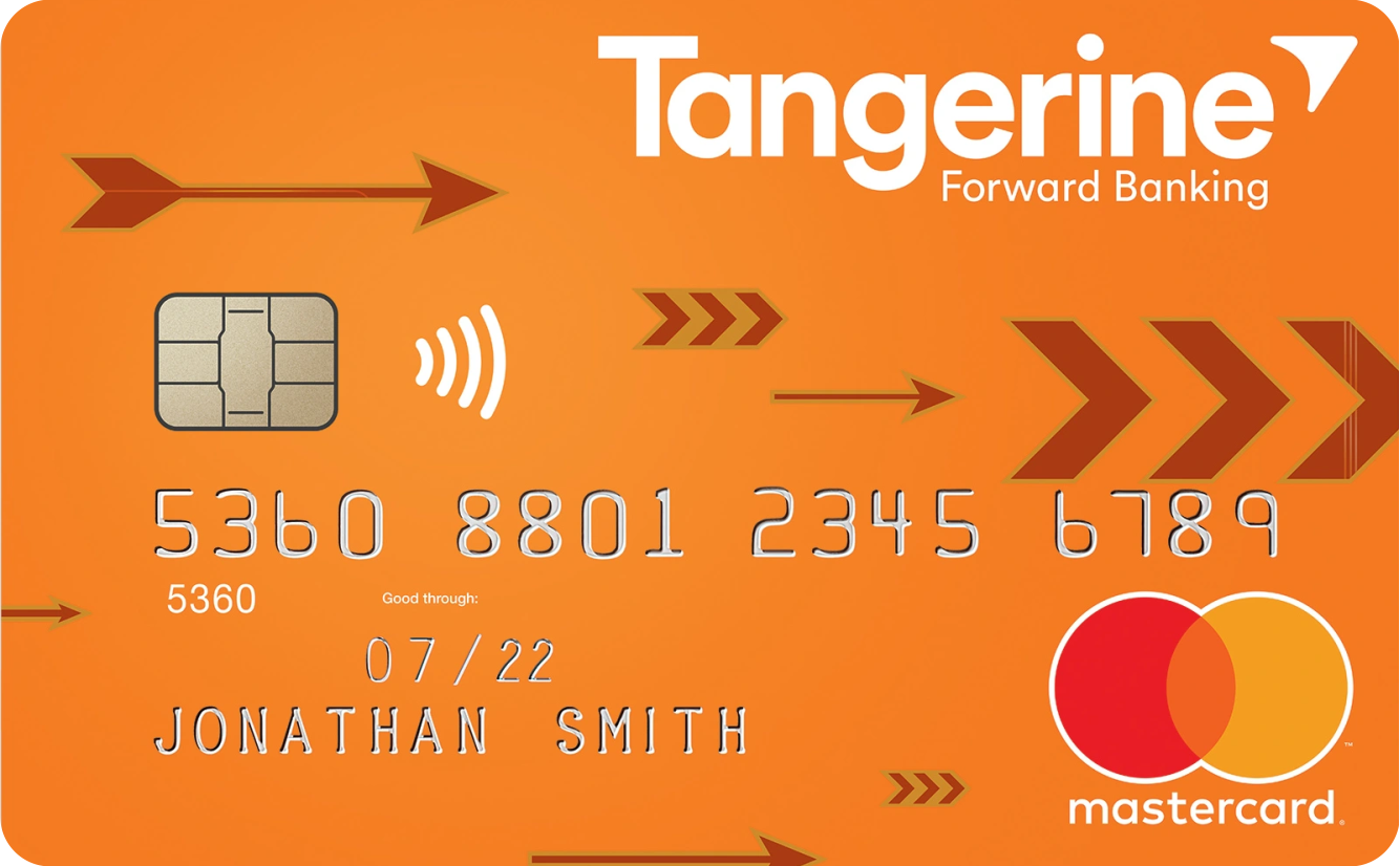 Tangerine Money-Back Credit Card logo