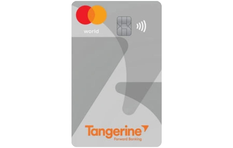 Tangerine World Mastercard® logo