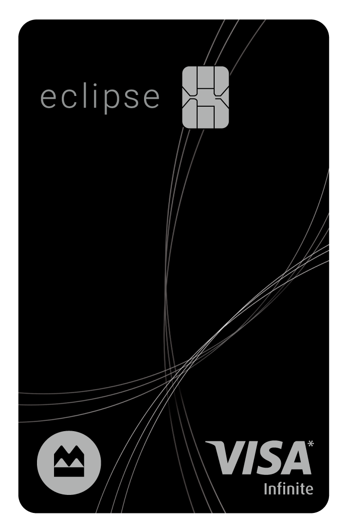 BMO eclipse Visa Infinite* Card logo