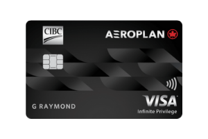 CIBC Aeroplan Visa Infinite Privilege Card (1)