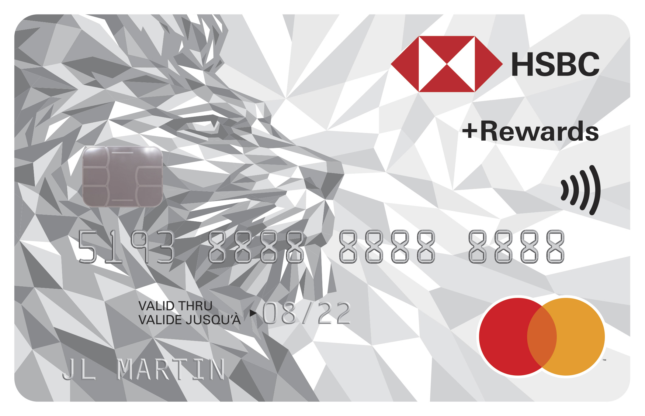 HSBC +Rewards™ Mastercard® logo
